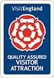 Visit England Quality Assured Visitor Attraction Badge